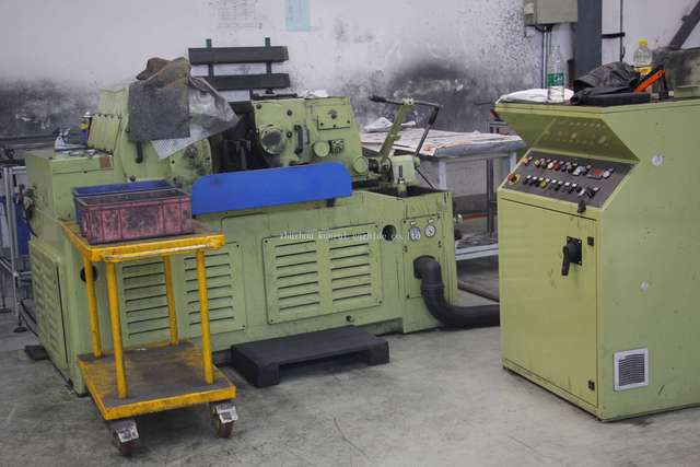 grinding rod machine department